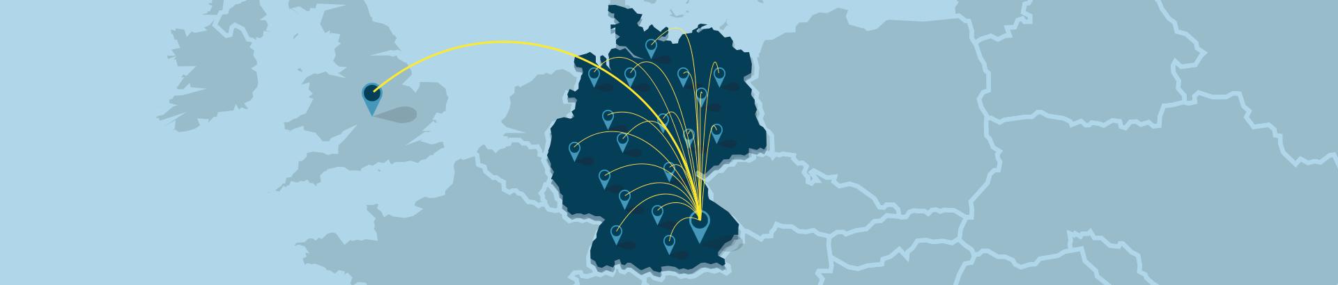 Vertriebsteam für neue Industriekunden in Deutschland, Europa und den USA